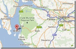 Location Map Millport